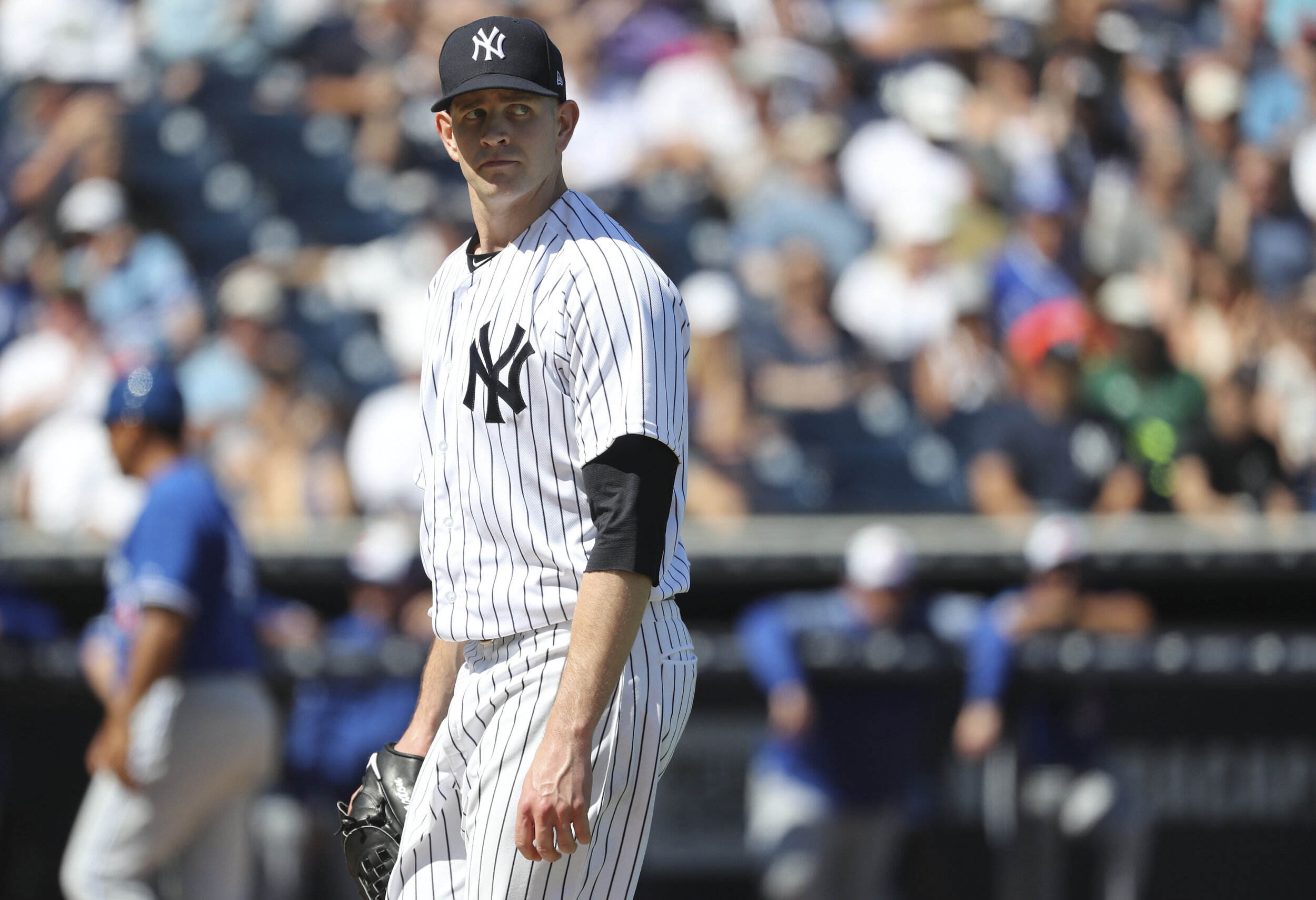 North Delta Blue Jays alum James Paxton (Ladner, BC) will likely be the Game 1 starter for the New York Yankees in the American League Championship Series. Photo: USA Today Sports