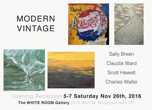 White Room Show invitation