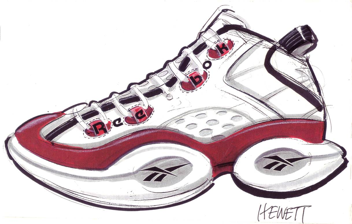 Reebok Classic Question 'Prototype' takes A.I. back to drawing ...