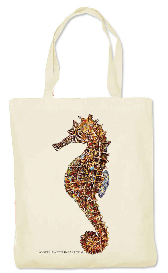 Seahorse-Abstract