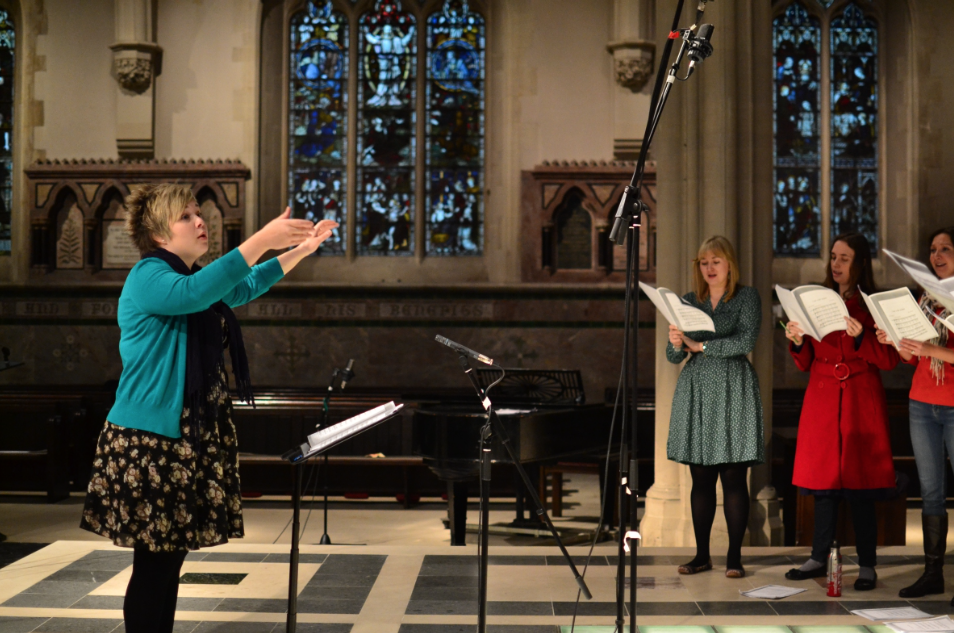 The Blossom Street Chamber Choir directed by Hilary Campbell