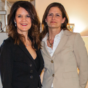 At Home Academy Founder & CEO Beth Woods with Highlands Ability Battery Consultant Carla Miley