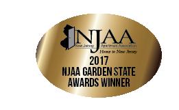 2017 Winner of NJAA Award for Curb Appeal