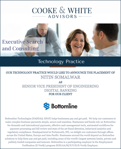 Bottomline Technologies - Cooke and White