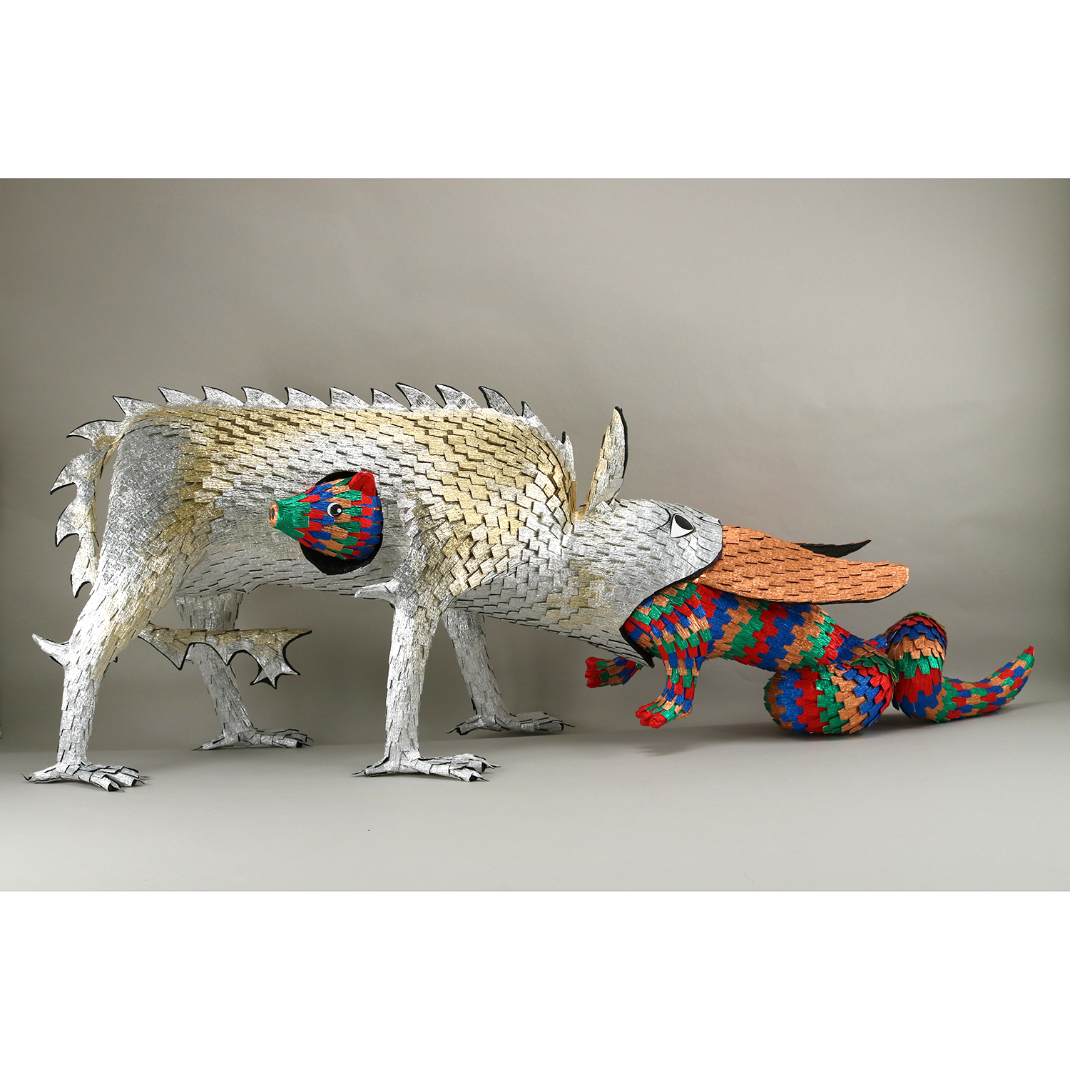 Illuminated Piñata No. 12 - Crocodile and Hydrus - Roberto Benavidez - Web.jpg