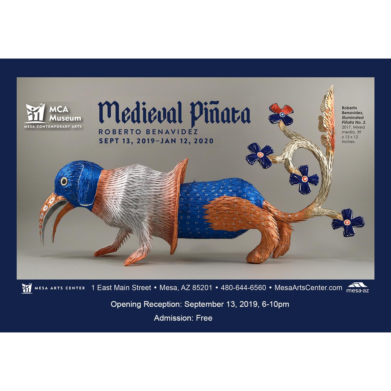 Medieval Piñata Roberto Benavidez MCA Museum Mesa Art Center copy.jpg