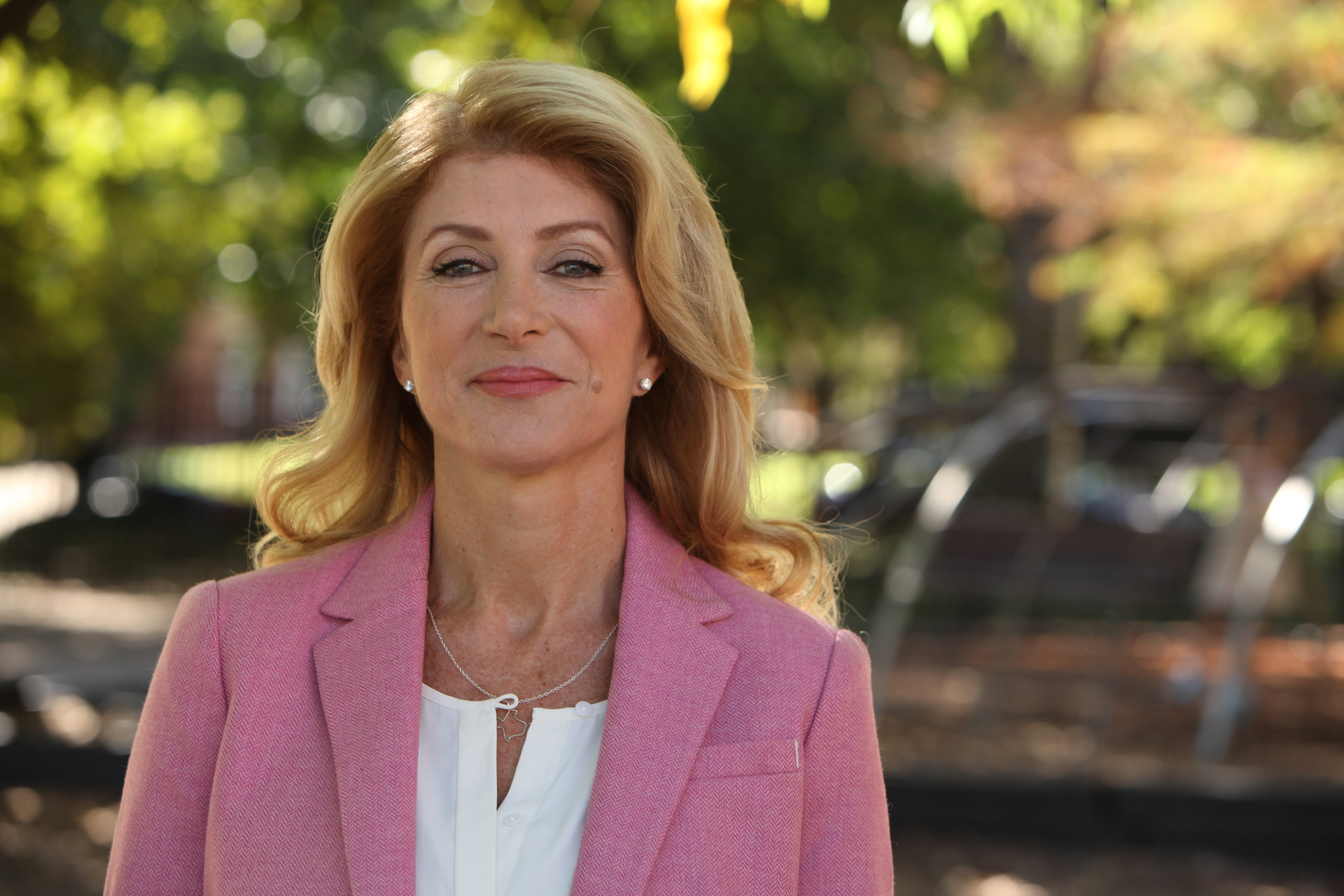 Pictured: Wendy Davis. Courtesy of  Deeds Not Words