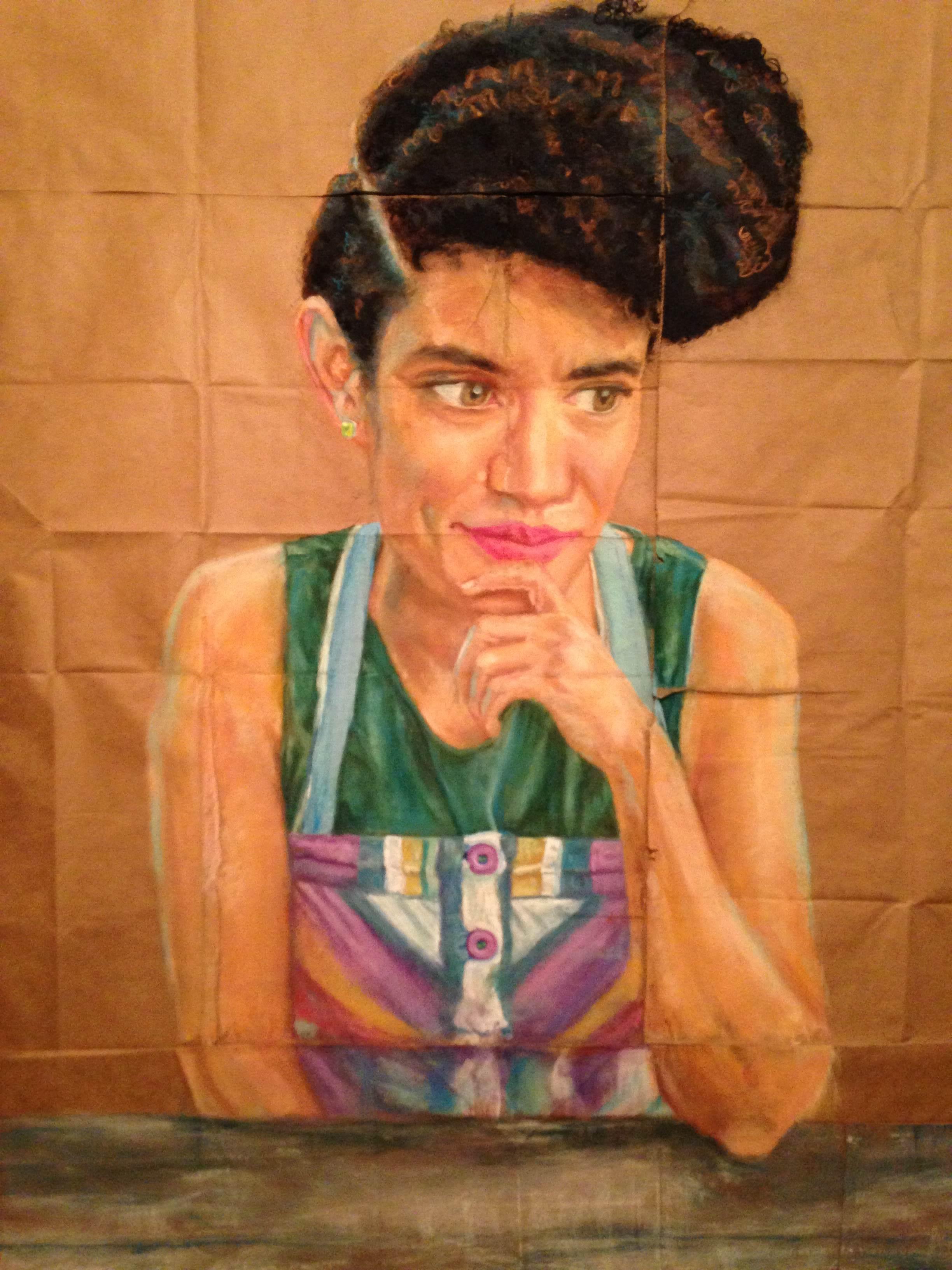 Portrait by Consetta Rubel