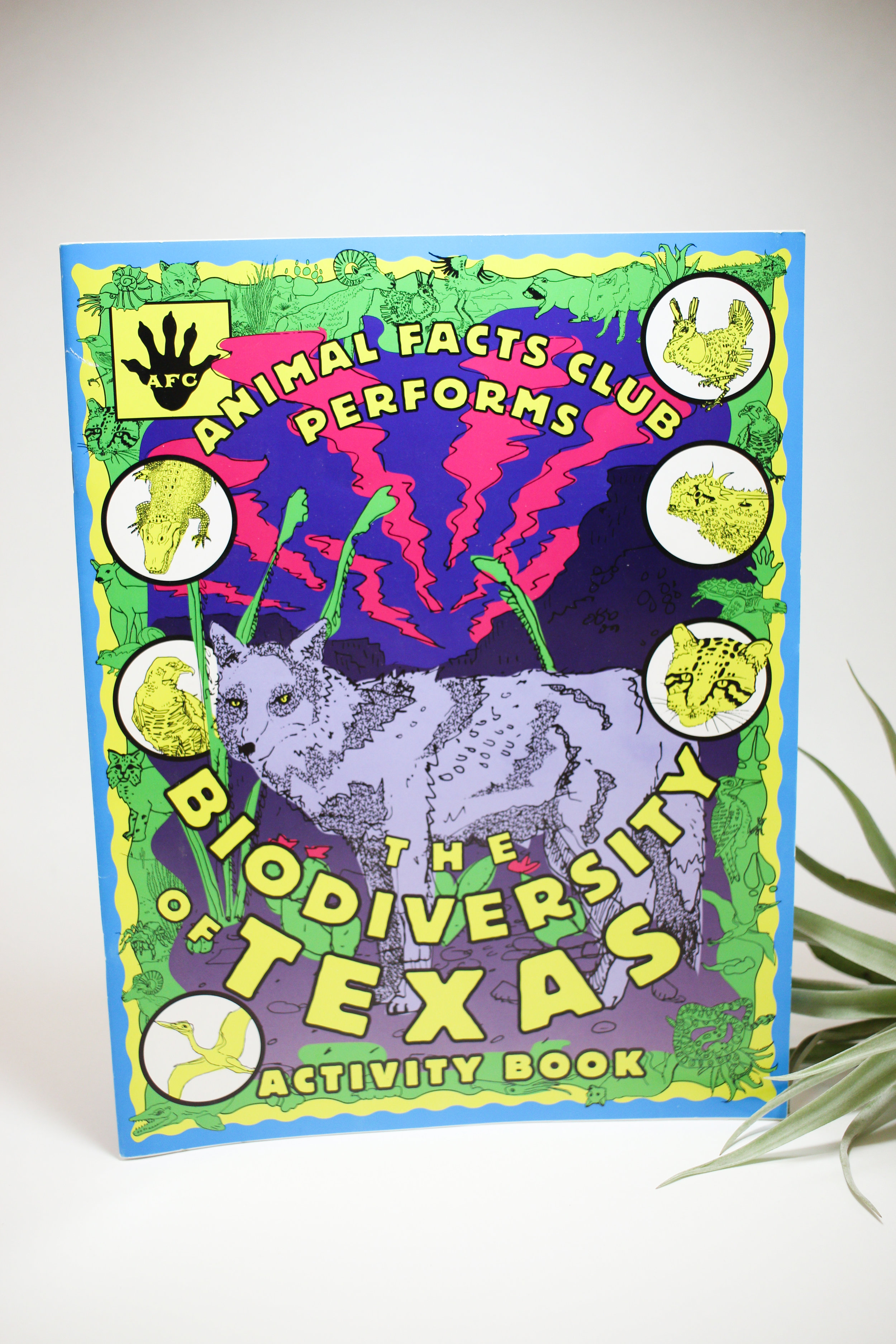 The Biodiversity of Texas Activity Book by Animal Facts Club