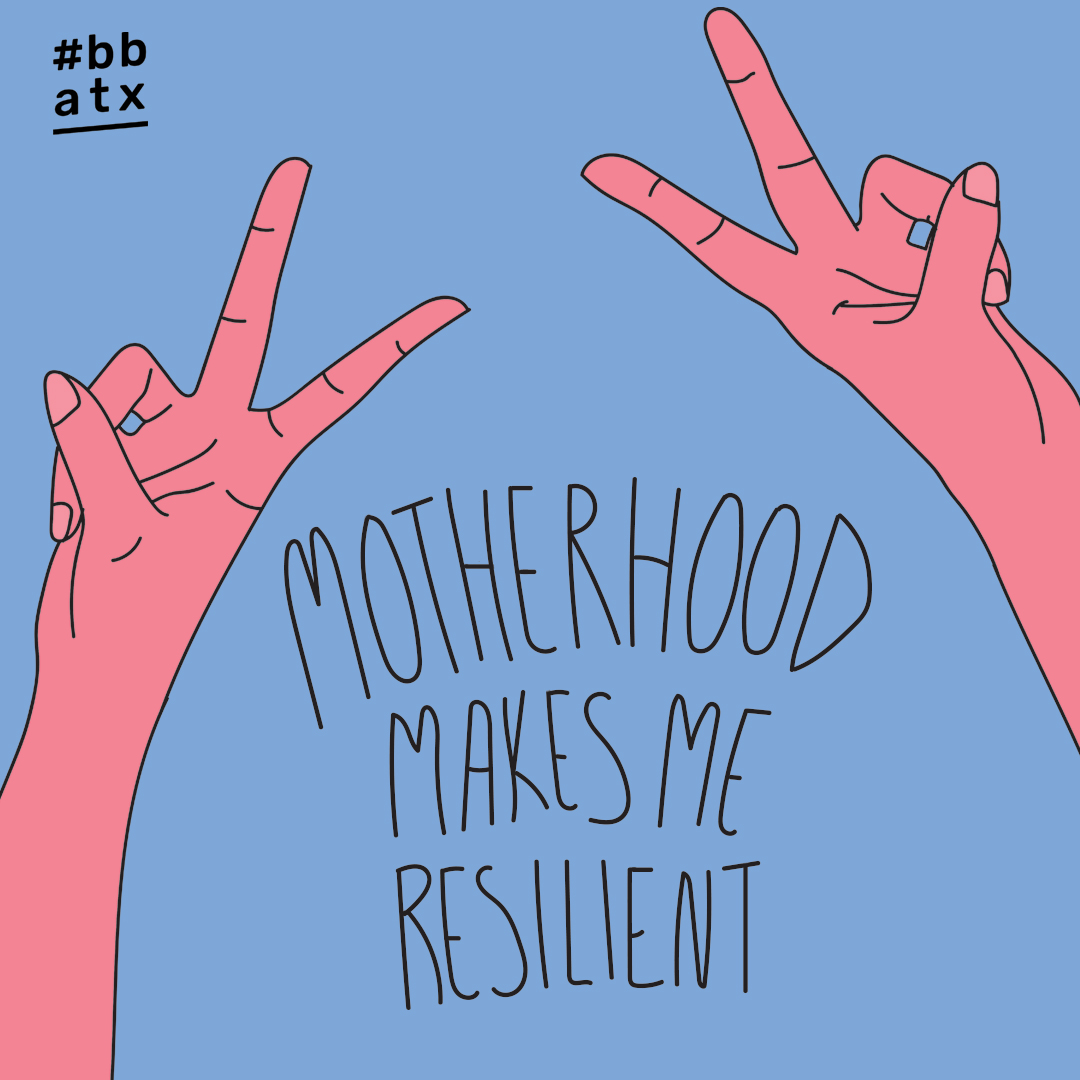 words by Jasmine Robinson (founder of Collegiate Mom Coalition and SOTU 2019 speaker) // illustration by Jasmine Brooks (artist and #BBATX board member)