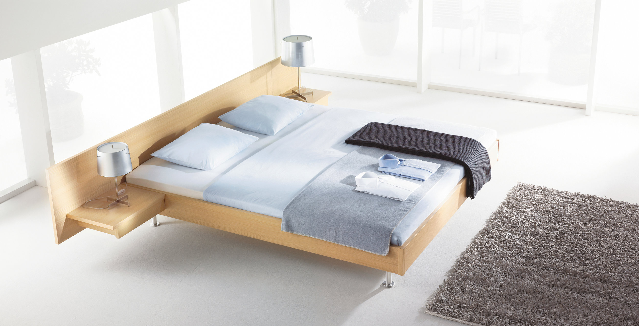 We Offer A Range Of Handsome And Sleek European Bed Frames In Wood Fabric All Sizes Custom Made For You Visit Our Los Angeles Showroom Or