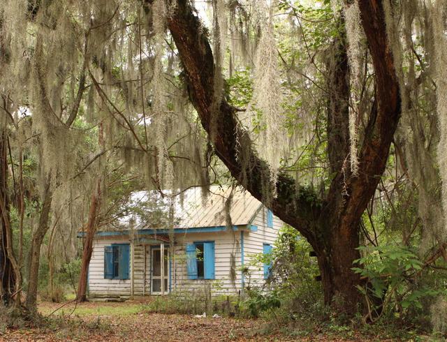 A Gulluh house in South Carolina