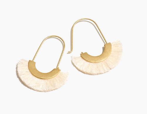 Madewell Fringe Earrings