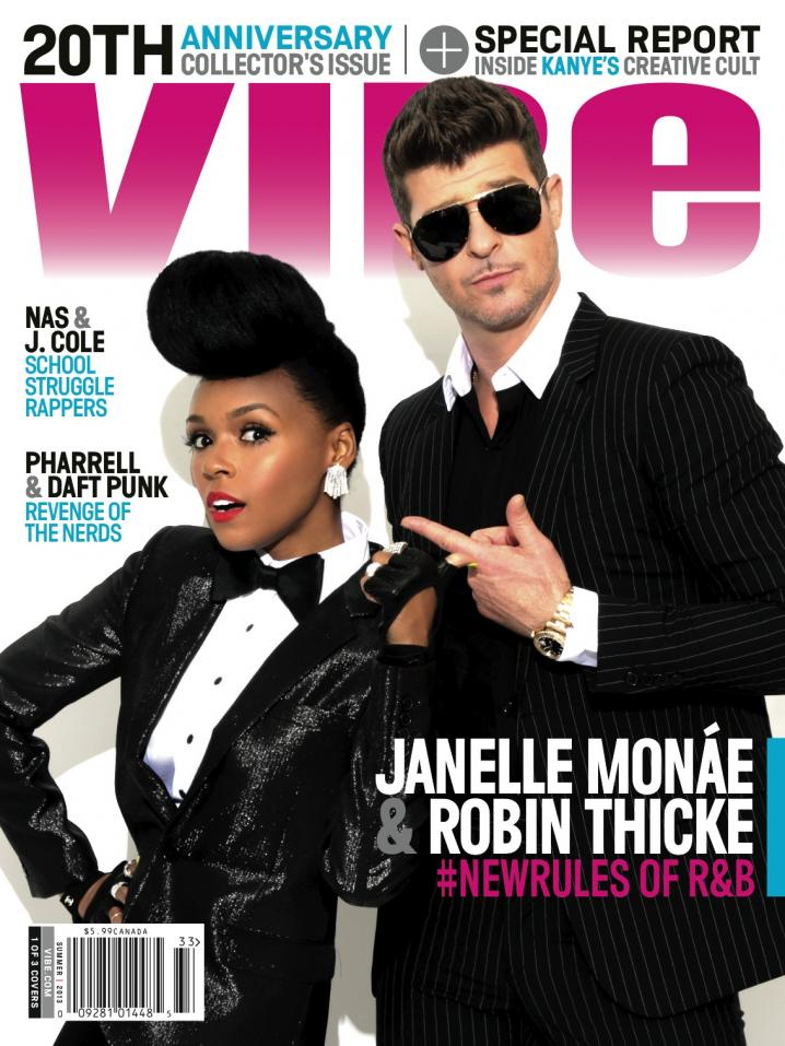 "Robin Thicke for ""Vibe""  Photo: Kareem Black"