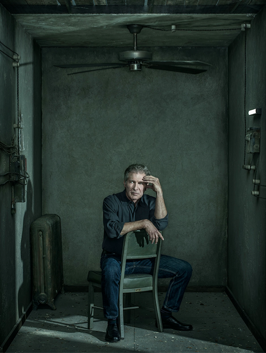 """Harrison Ford for """"Wired""""  Photo: Dan Winters"""