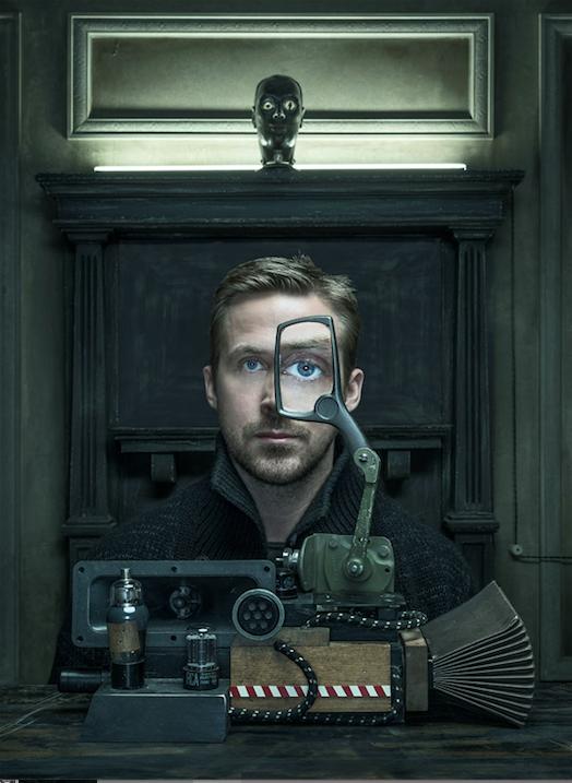 "Ryan Gosling for ""Wired""  Photo: Dan Winters"