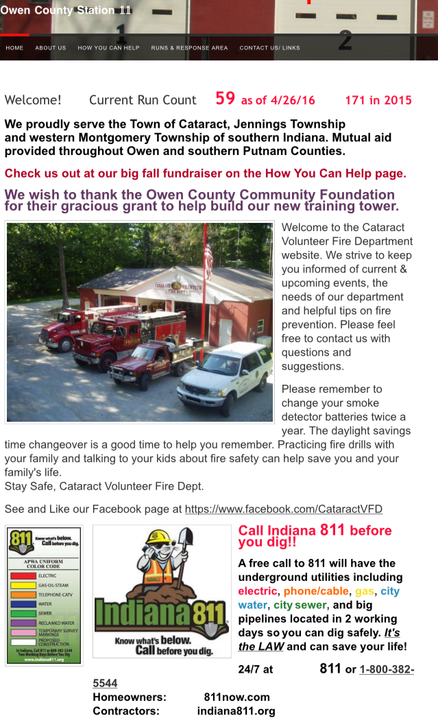 Cataract Volunteer Fire Department