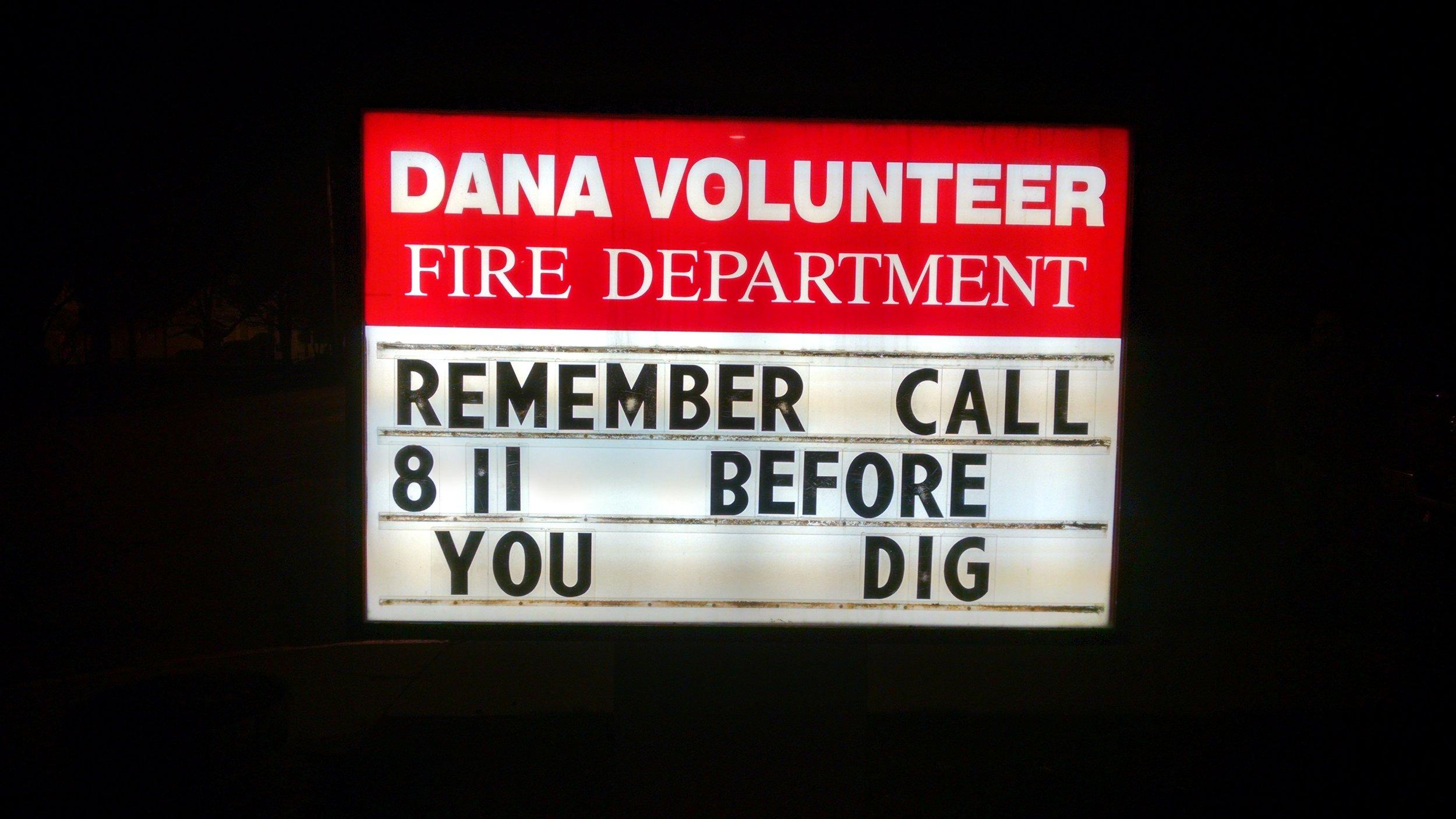 Dana Comm. Vol. Fire Department