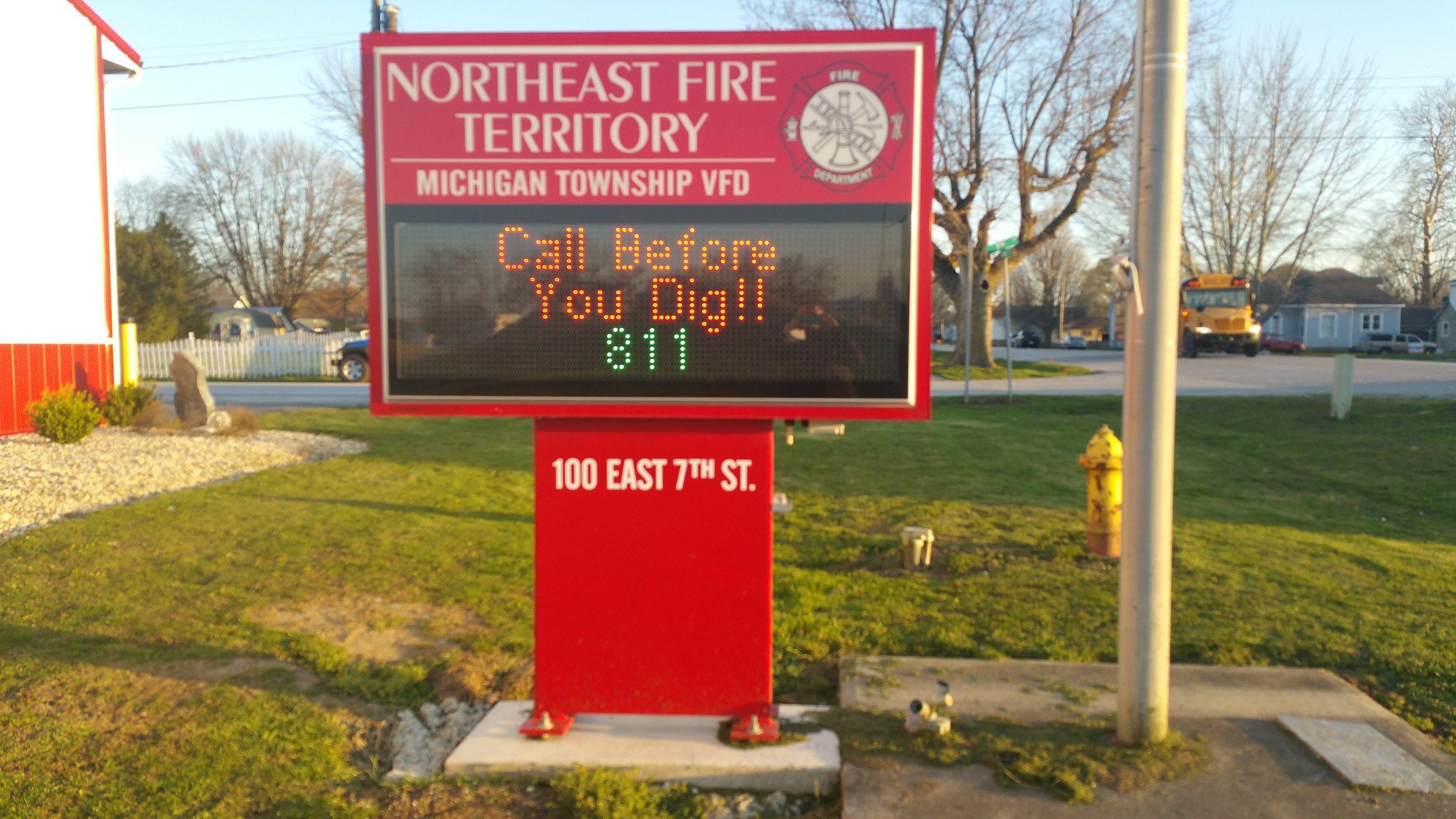 Michigan Township Volunteer Fire Department
