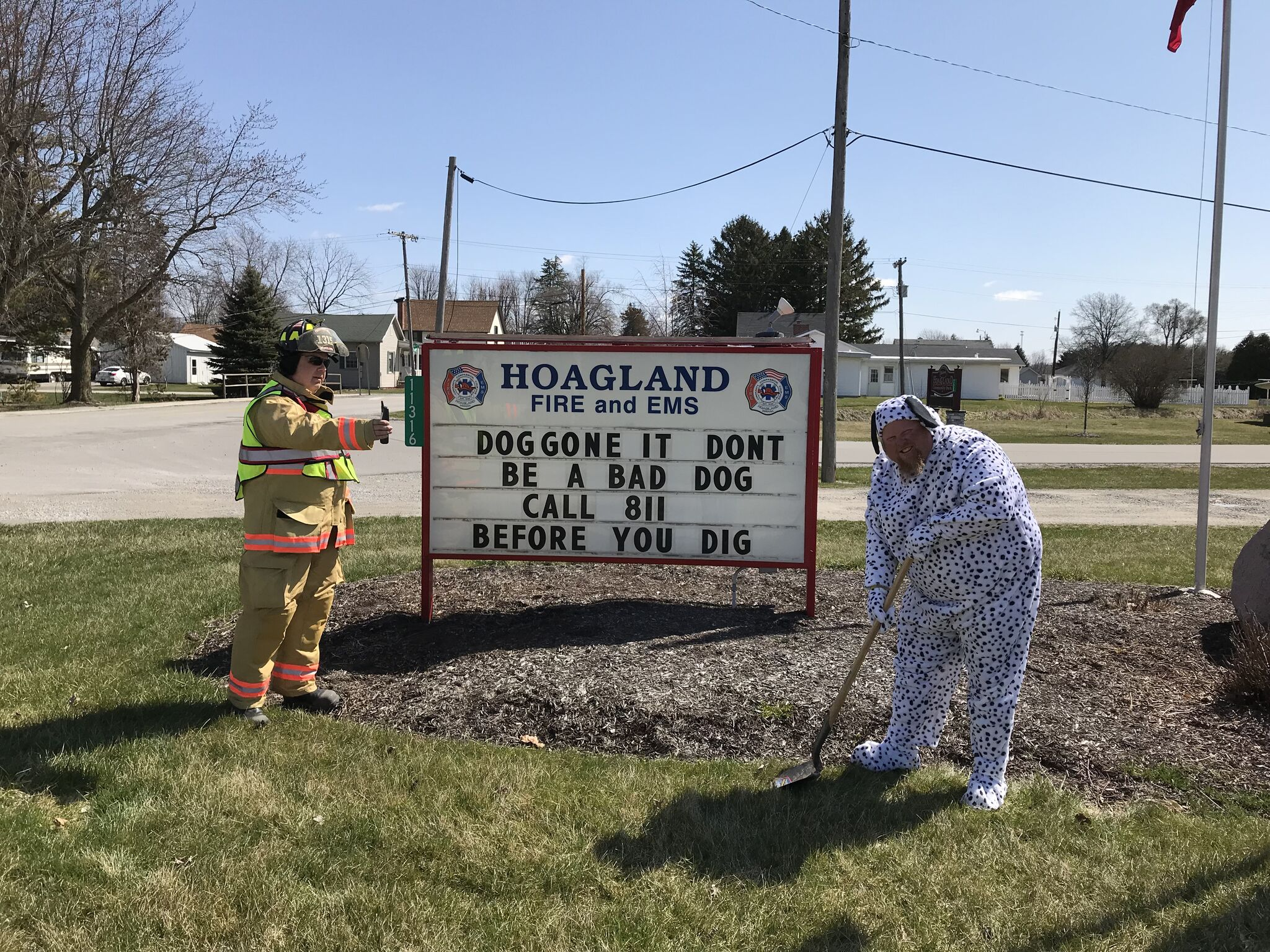 "hoagland fire & EMS - ""doggone it…"""