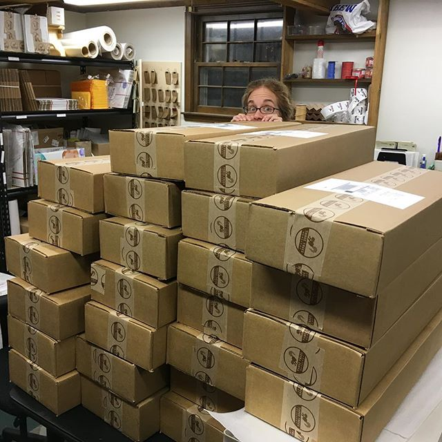 We haven't gotten into Elf on the Shelf around here, but we do play Elf Behind the Packages. It's pretty fun. . #santaoutsourced #santaselves #grateful #busy