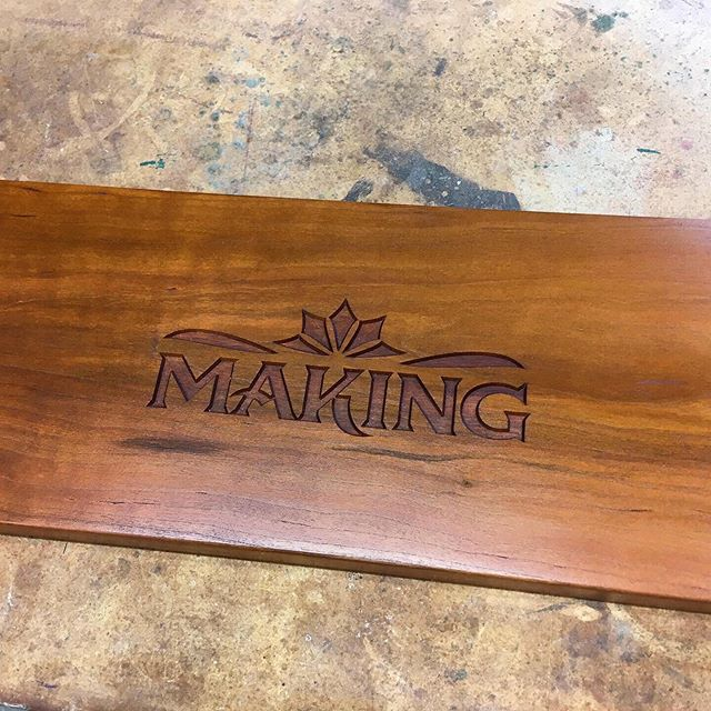 "We're in the season premier of the tv show ""Making""! You can stream it online at  video.kmos.org/show/making.  Each episode features craftsmen and artists from around Missouri."