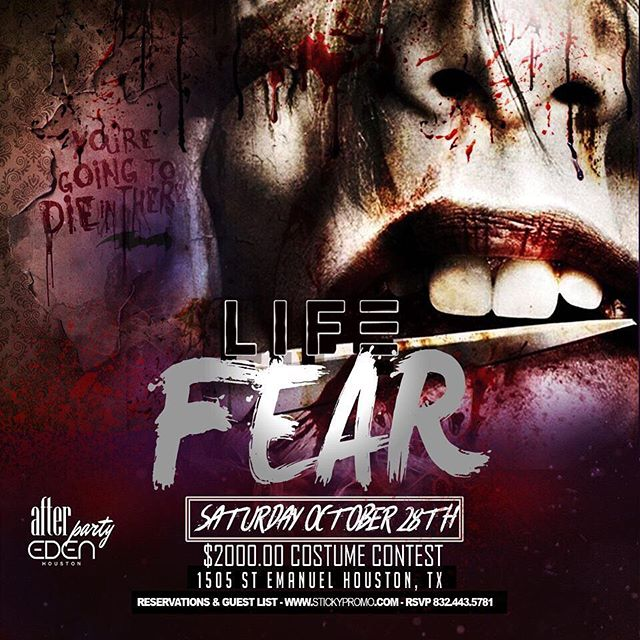 ‪Houston ! Join the biggest Halloween Party ! 2,000 cash costume contest tonight ! LIT!  #stickypromo #stickysavageaf #lifesaturdays‬