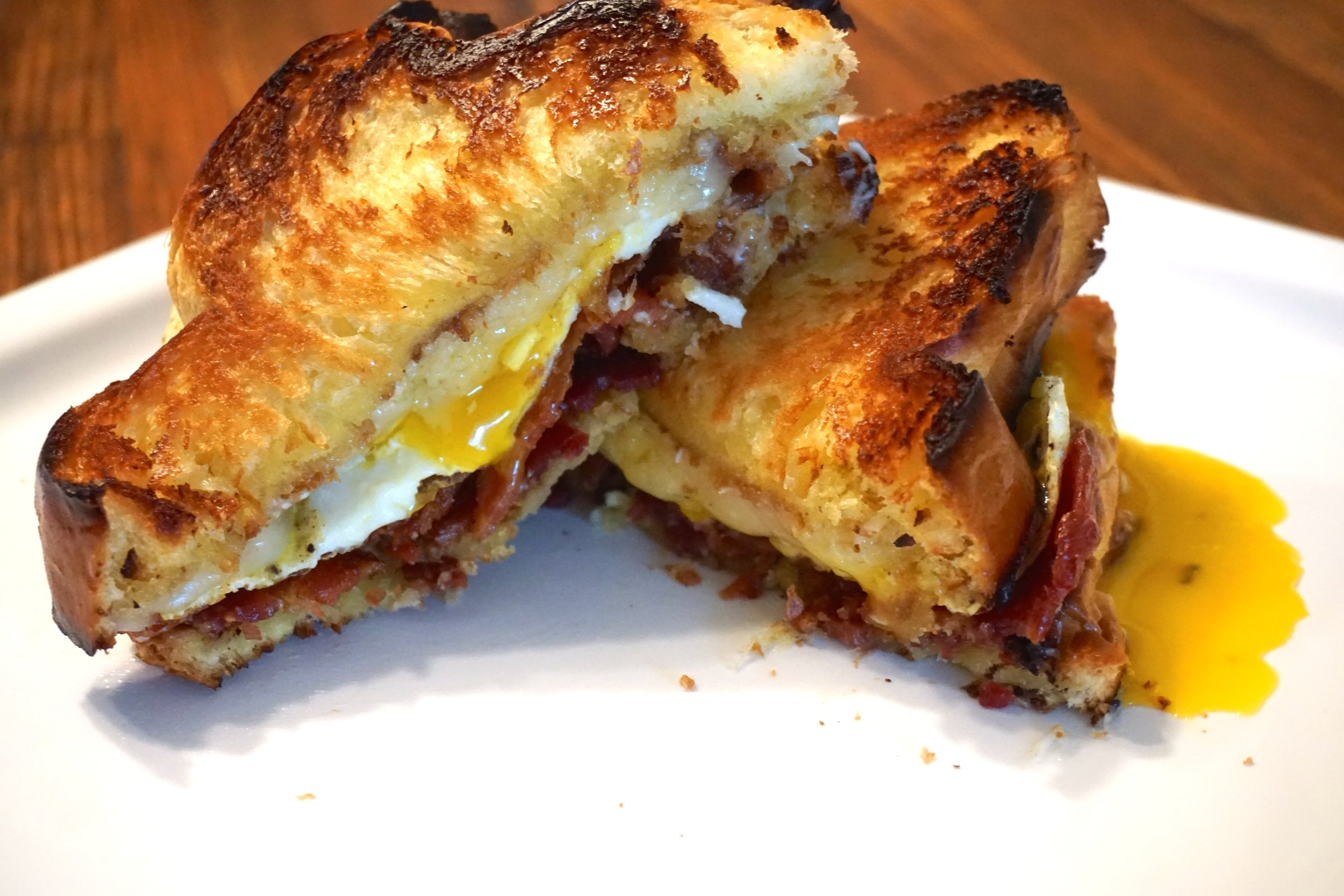 The Best Breakfast Sandwich - This is the most amazing breakfast sandwich you will ever eat. Simple ingredients that are incredible when combined together. Soon to be your favorite anytime