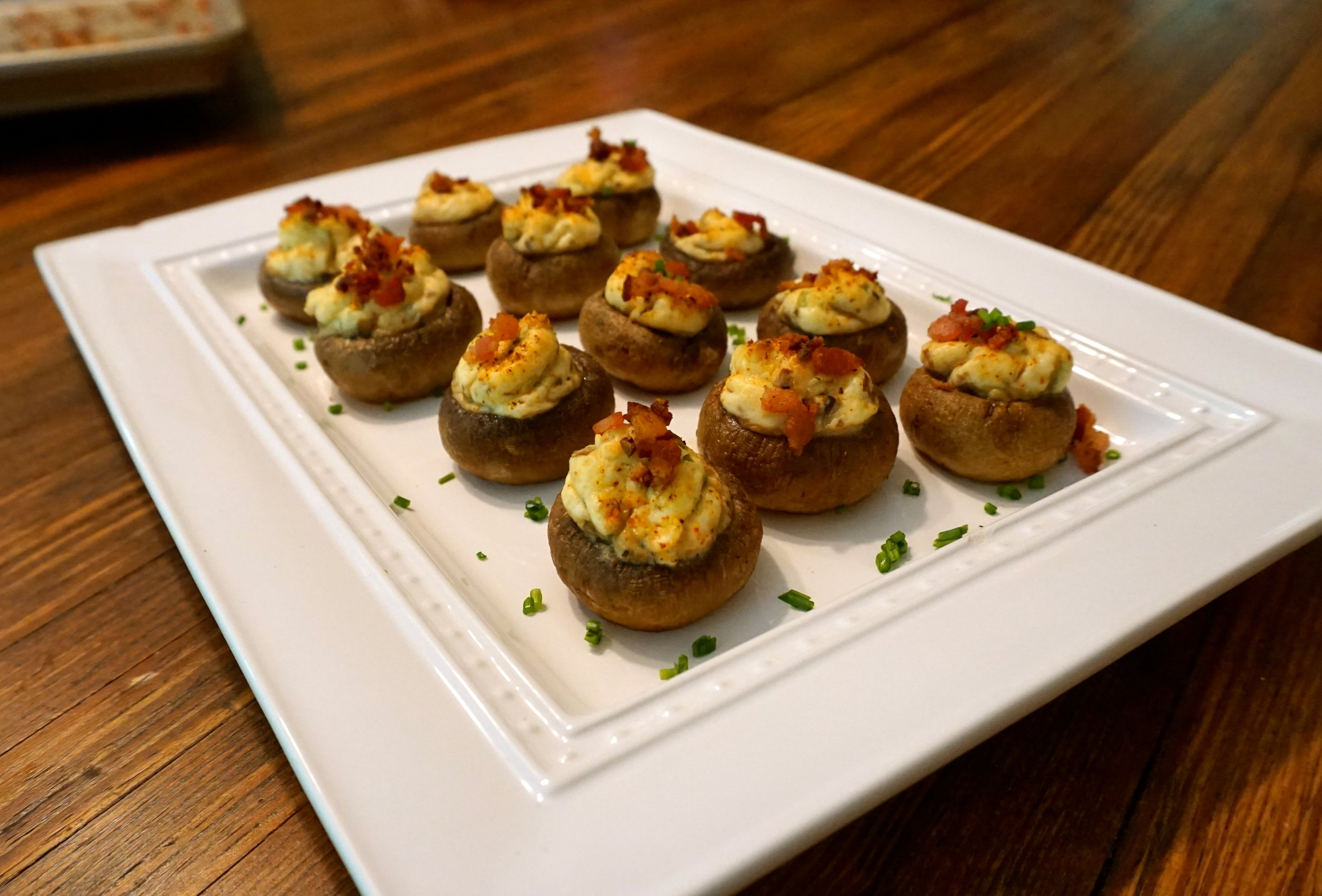 Cream Cheese Stuffed Mushrooms - These are a great starter for any event and are guaranteed to get you compliments. What doesn't taste amazing if it has cream cheese in it?