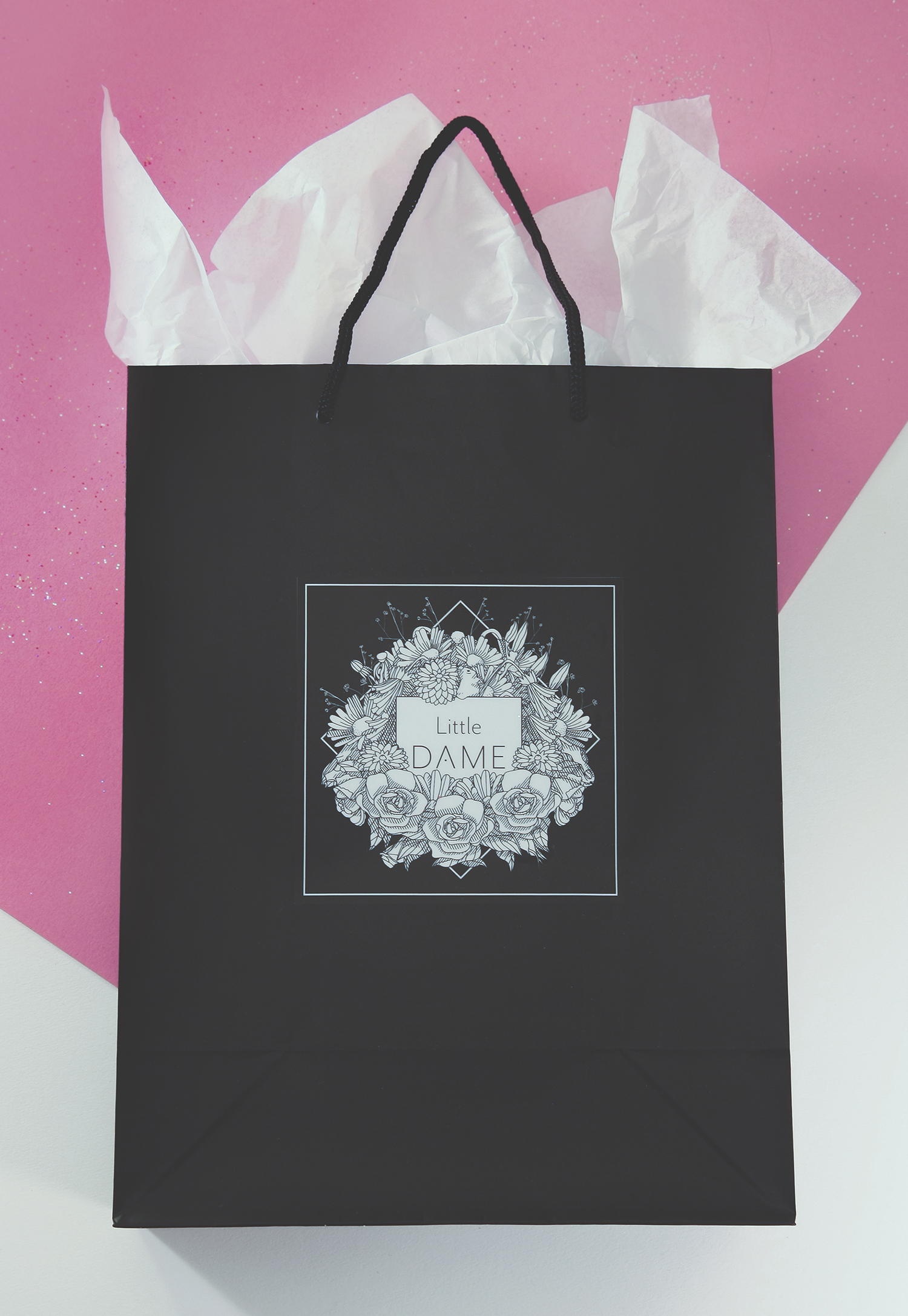 Little Dame Shop: Shopping Bag