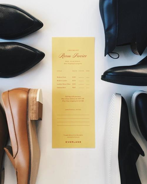 Everlane   Print & Email Design