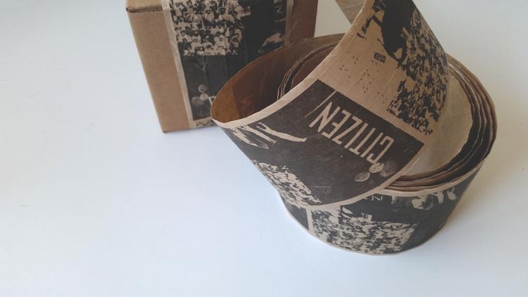Citizen Bean   Shipping Tape   Feels Design Studio