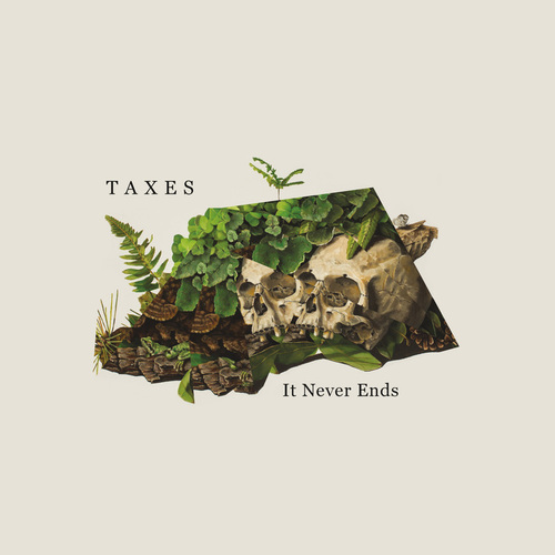 Taxes: It Never Ends   Album Artwork   Feels Design Studio