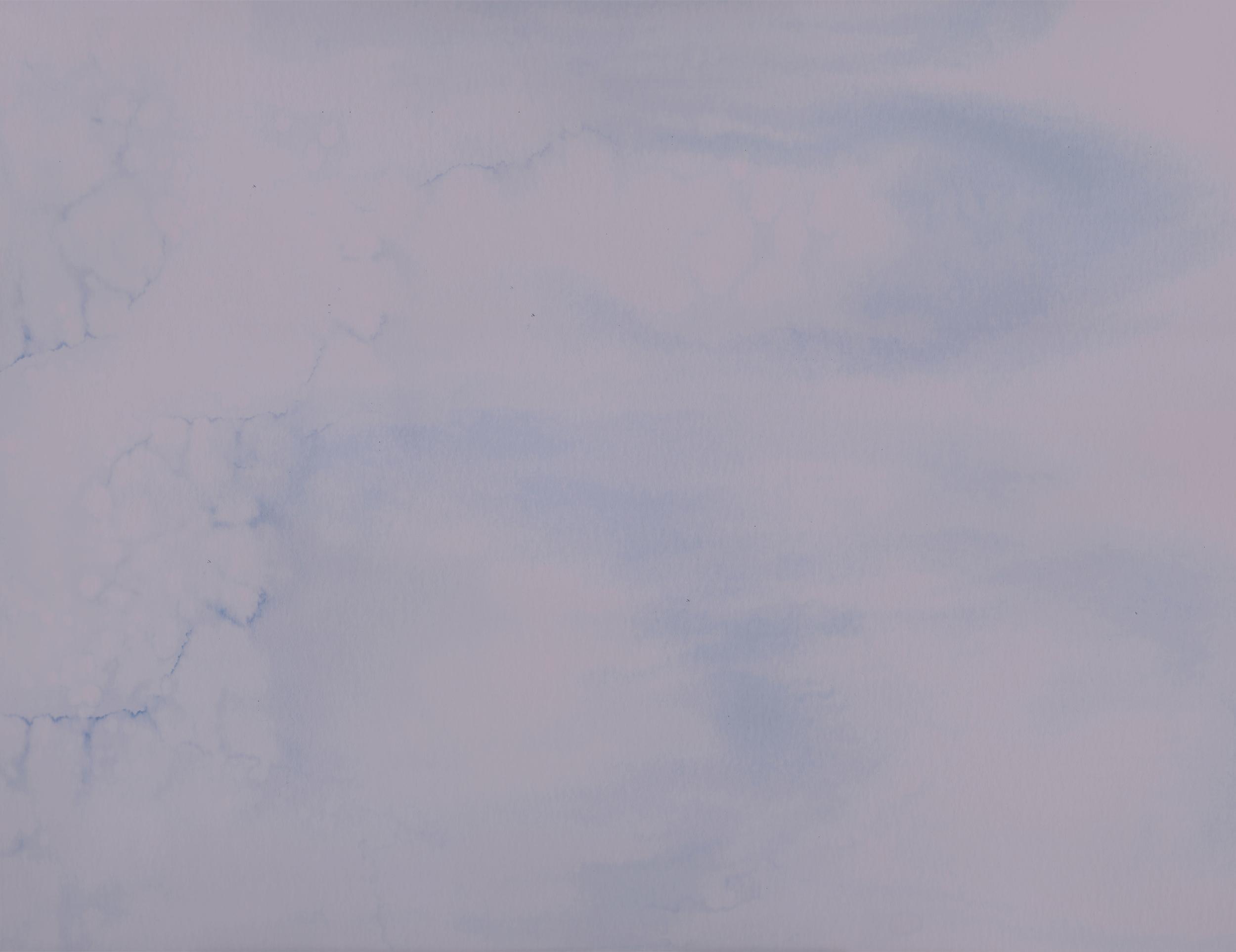 Hazy Watercolor Background by Annie Szafranski
