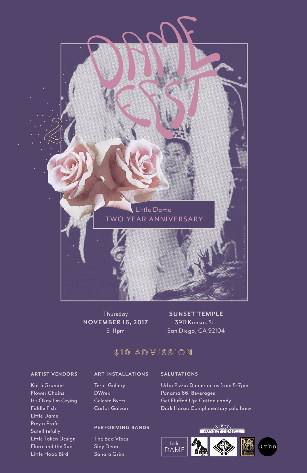 Little Dame | Dame Fest 2 | Print Poster