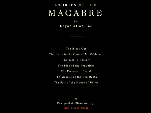 Stories of the Macabre, 2014