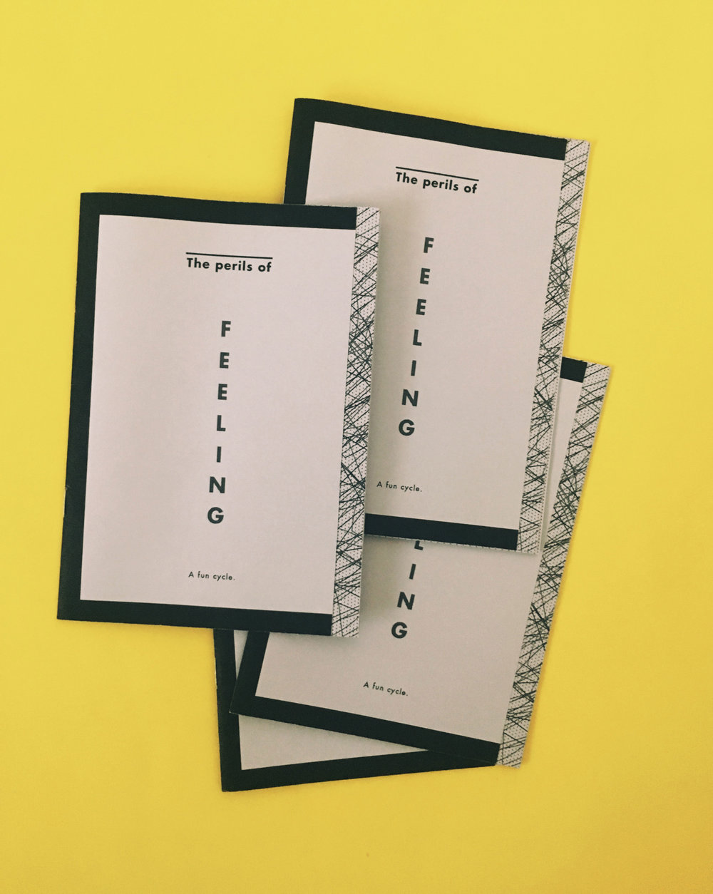 The Perils of Feeling Zine | Feels Design Studio | Annie Szafranski