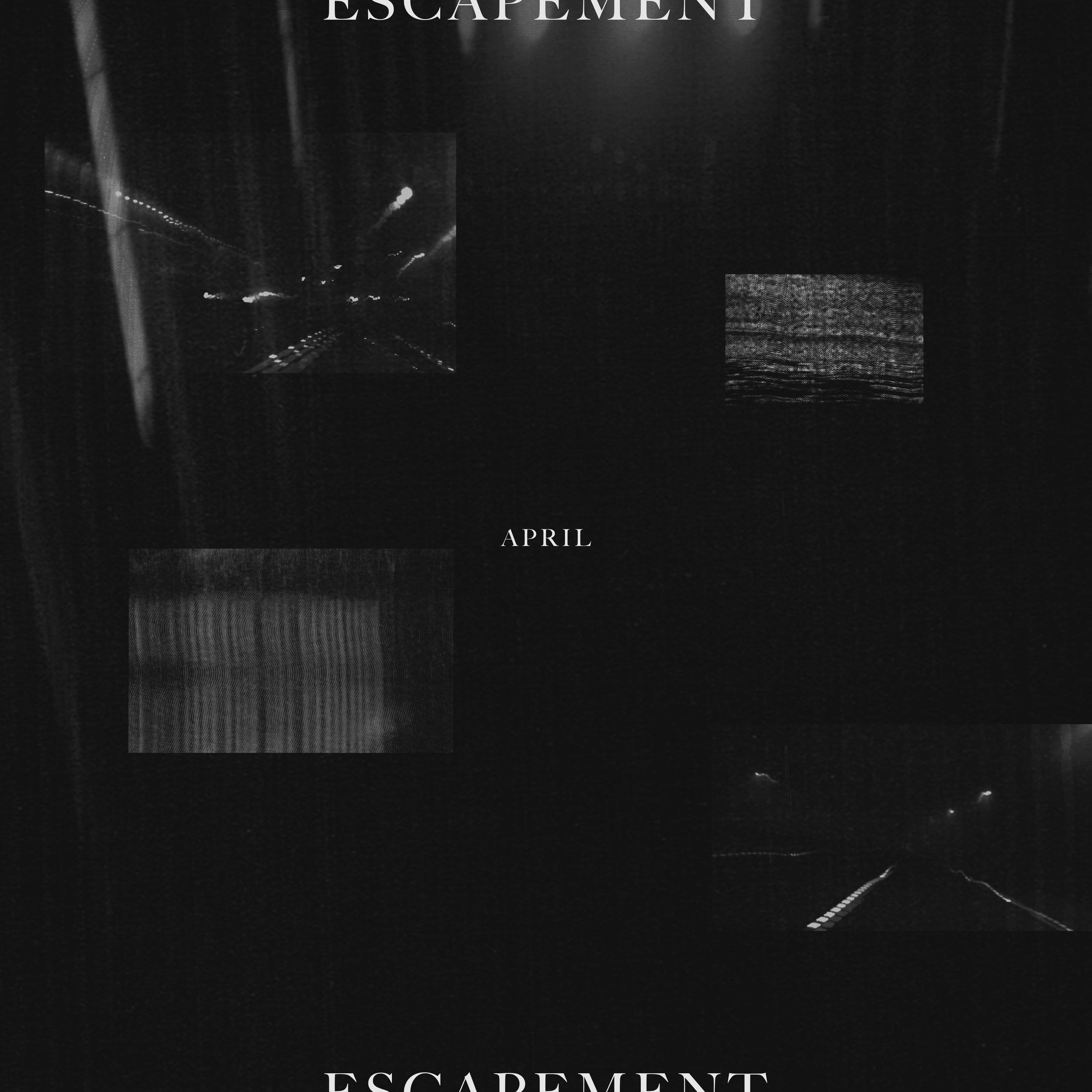 "April cover concept for ""Escapement"" 