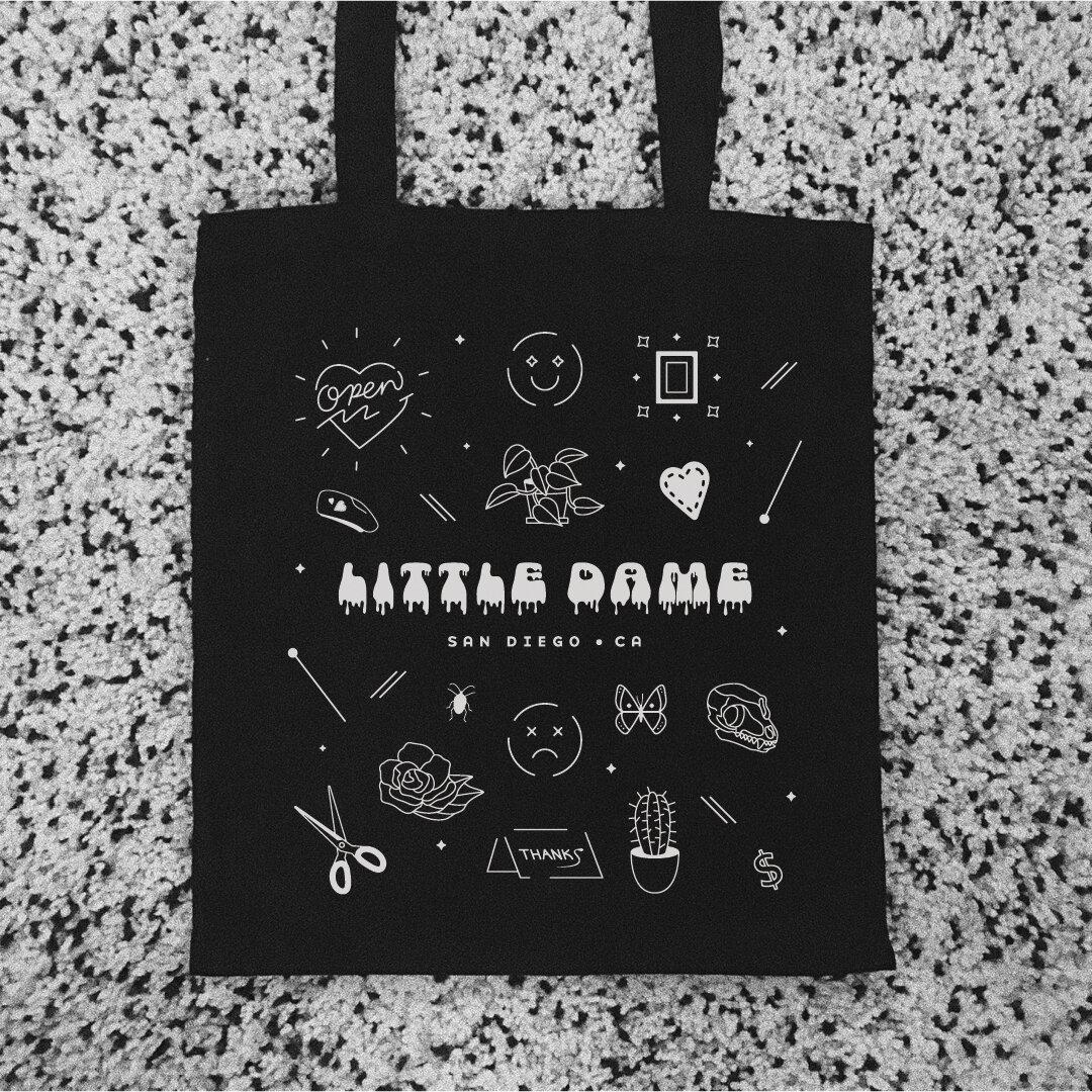 Tote Bag design for Little Dame by Annie Szafranski