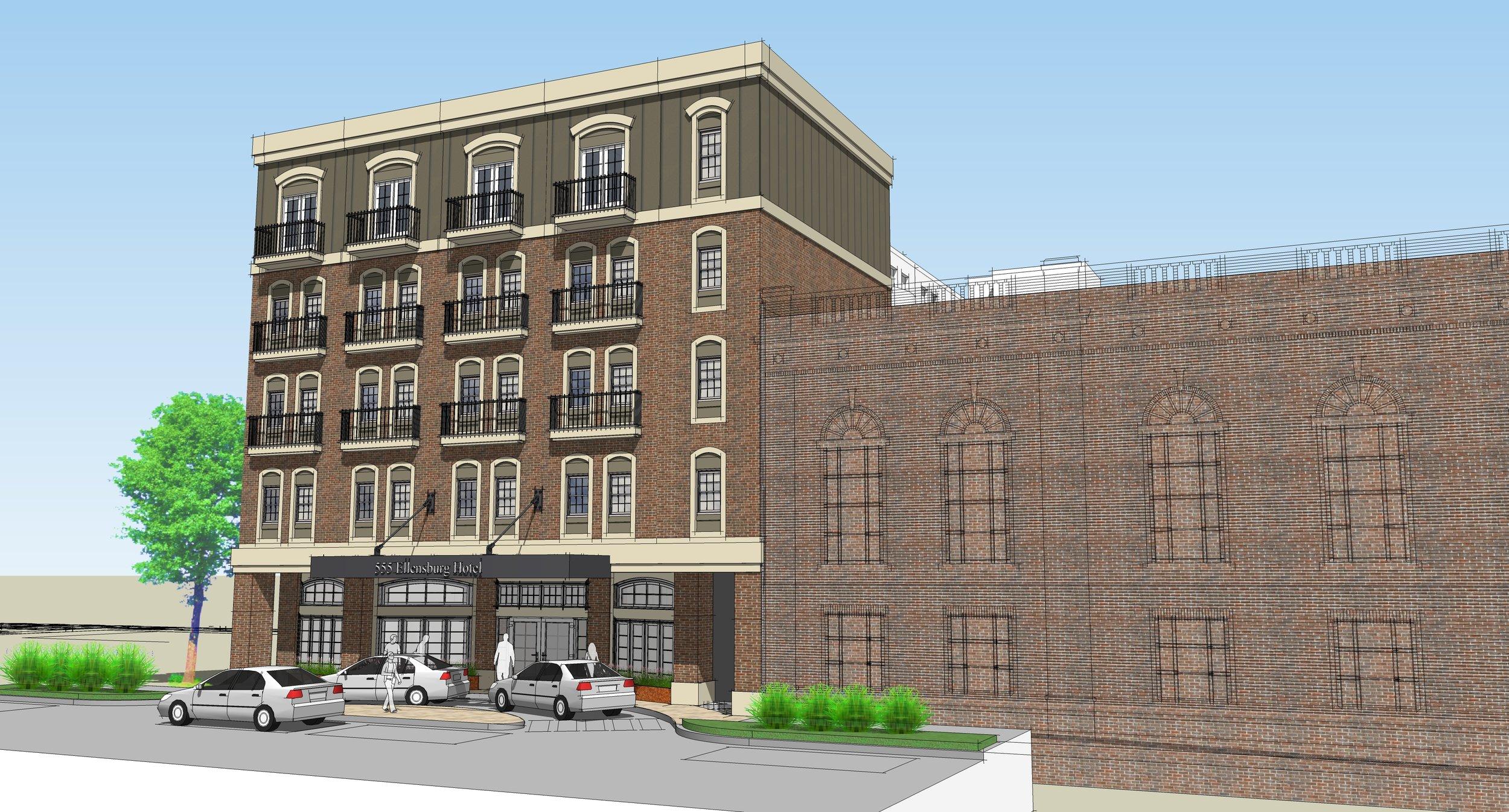 The Ellensburg Hotel project
