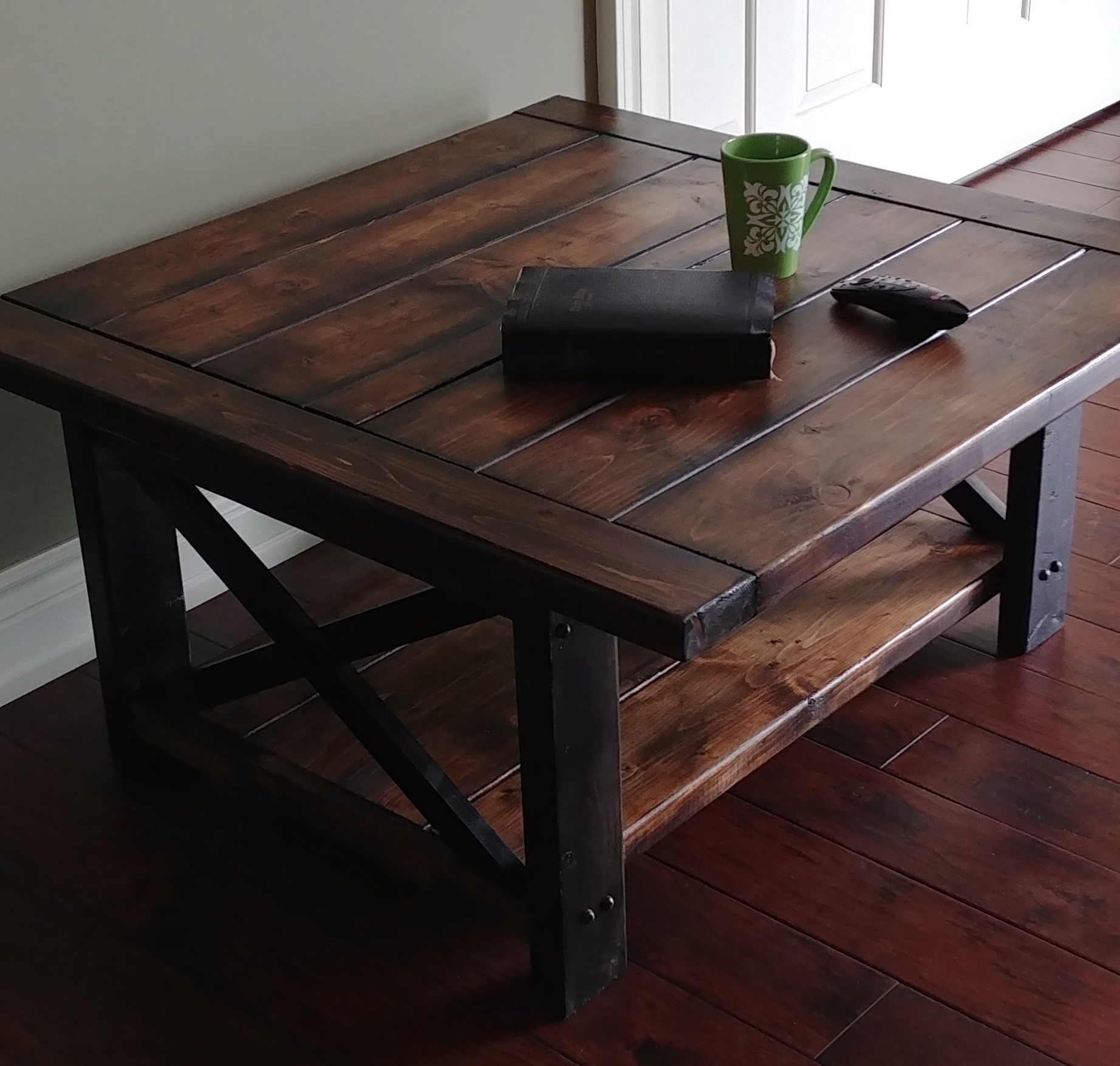 new new rustic coffee table wooden that be nice