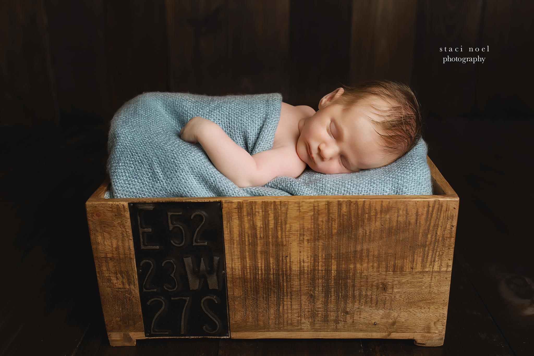 charlotte newborn photography baby boy