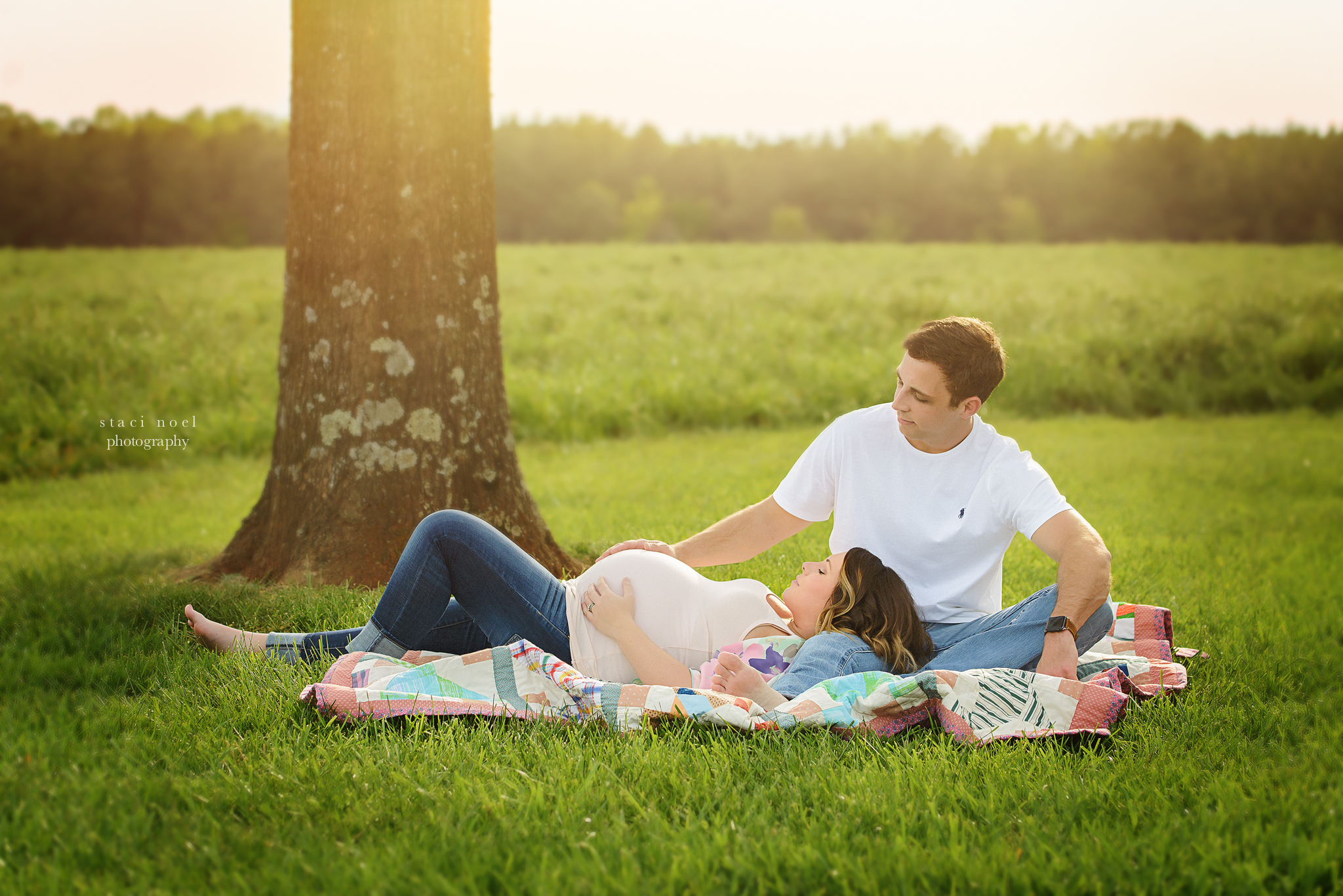 charlotte maternity photographer | field session