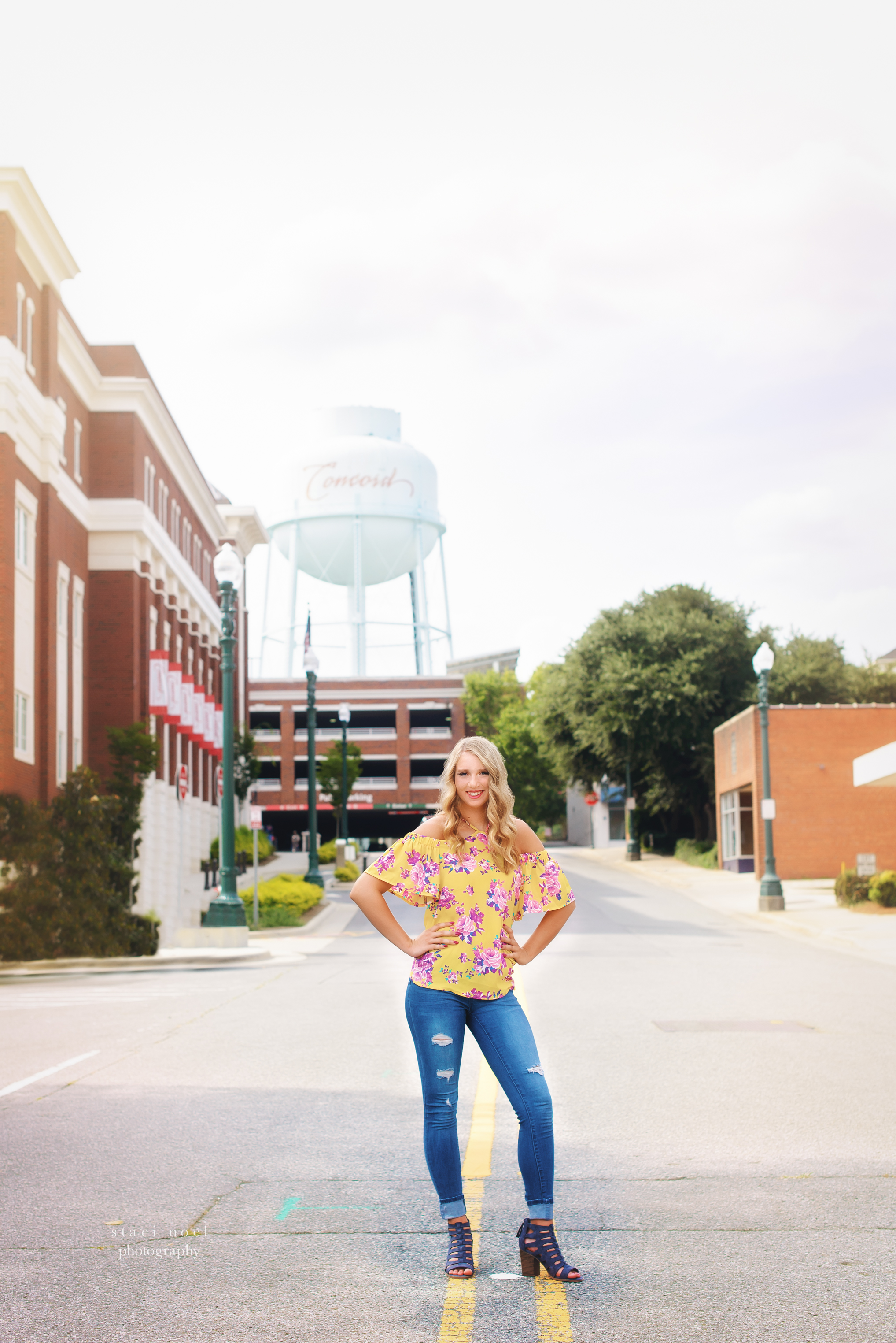 concord senior portraits | hickory ridge