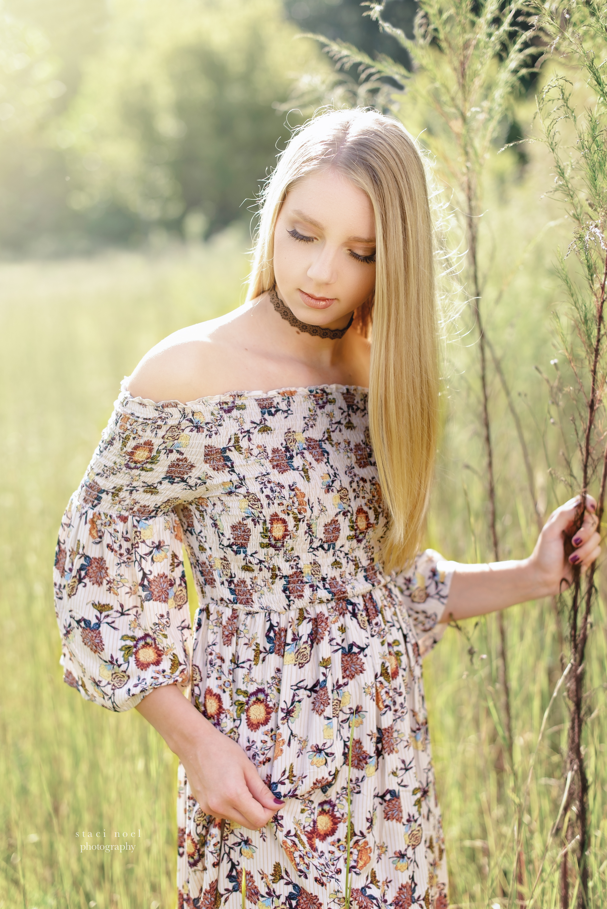 outdoor senior portraits | harrisburg nc