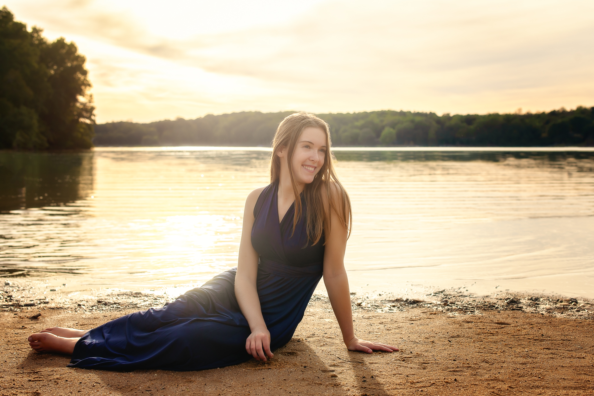 Harrisburg nc senior hickory ridge senior portrait