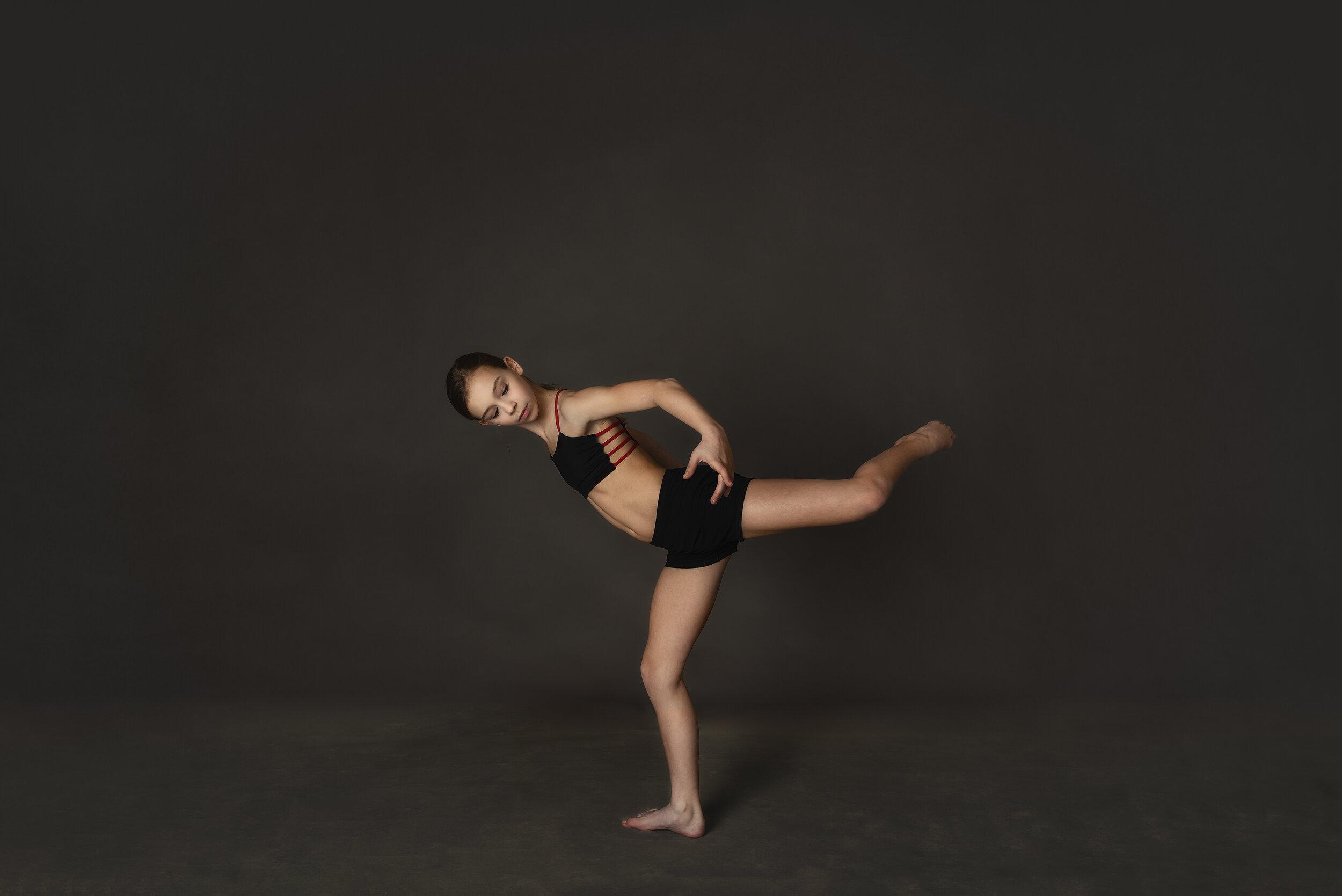 Harrisburg nc dance portrait