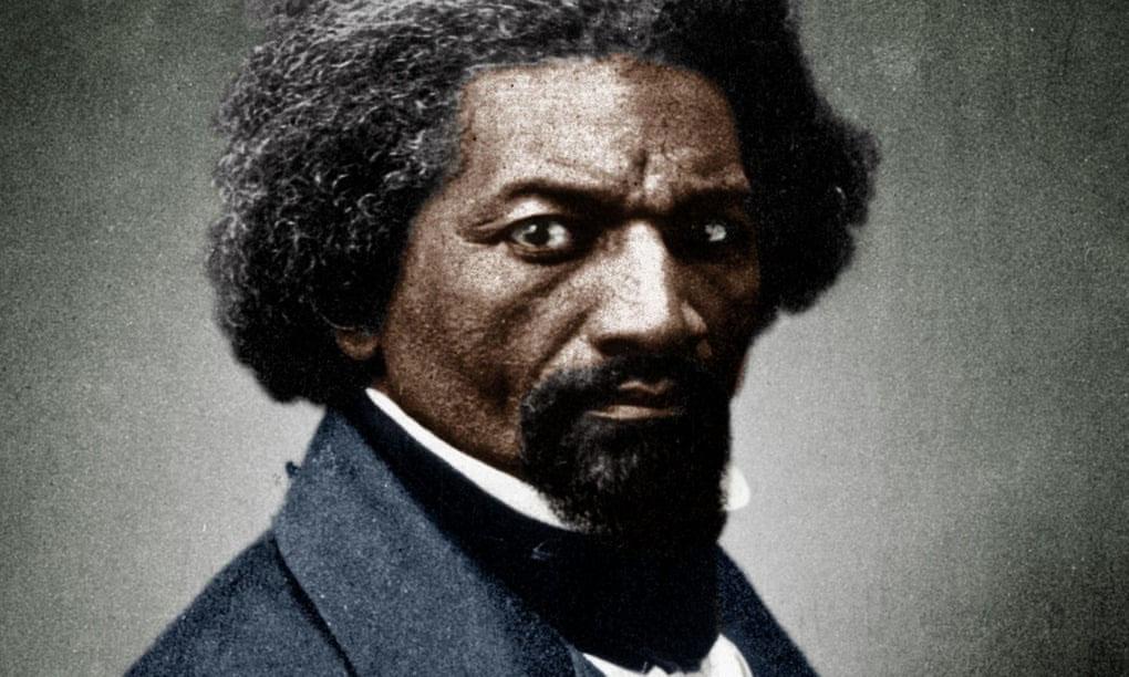 Frederick Douglass, c1866. Photograph: Granger/REX/Shutterstock