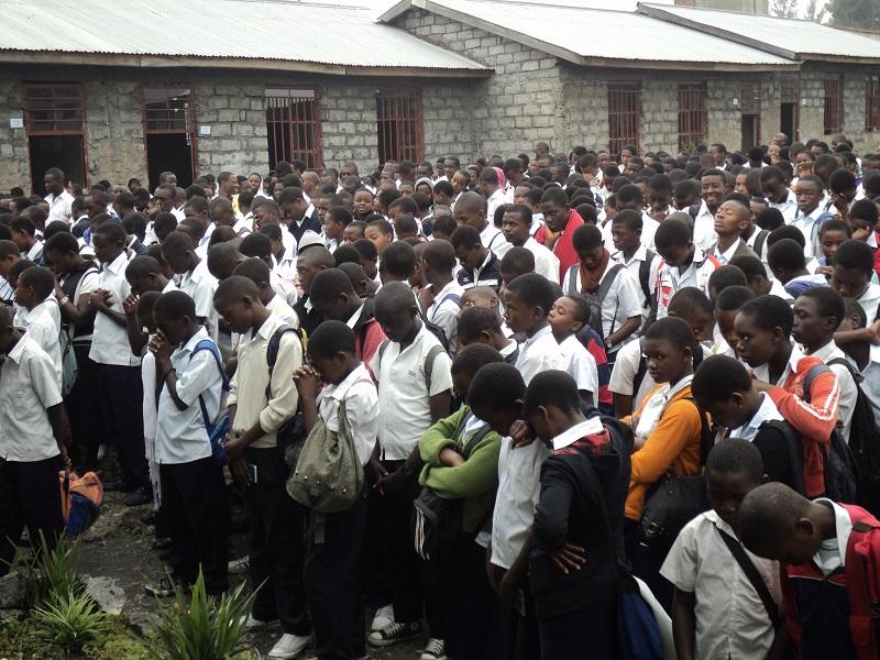 Evangelism prayer in Africa