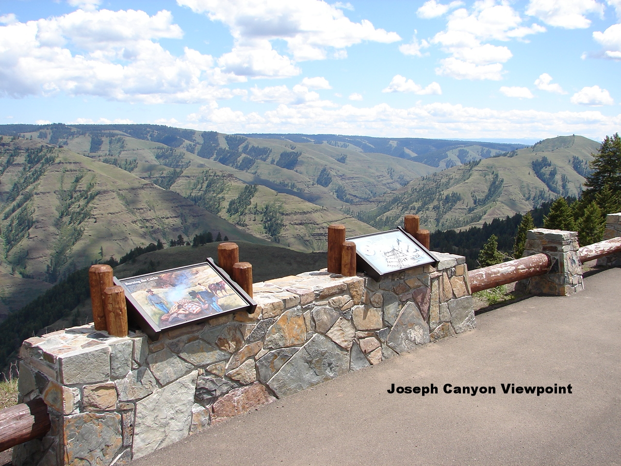 Joseph Canyon Viewpoint